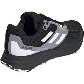 adidas TERREX Speed Flow Trail Running Shoes Men core black/crystal white/solar yellow